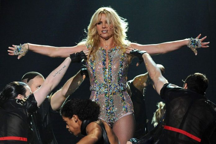 Britney spears in vegas
