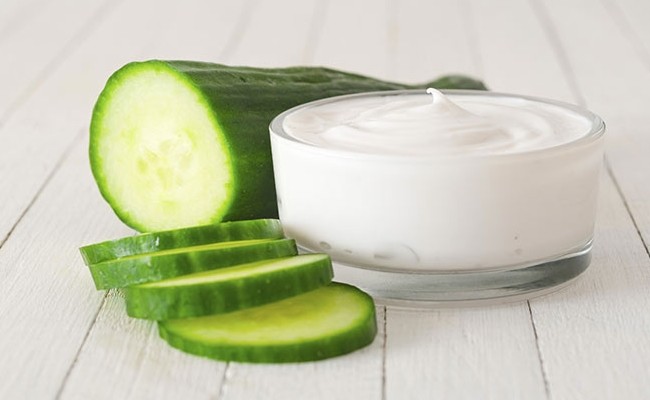 cucumber and milk